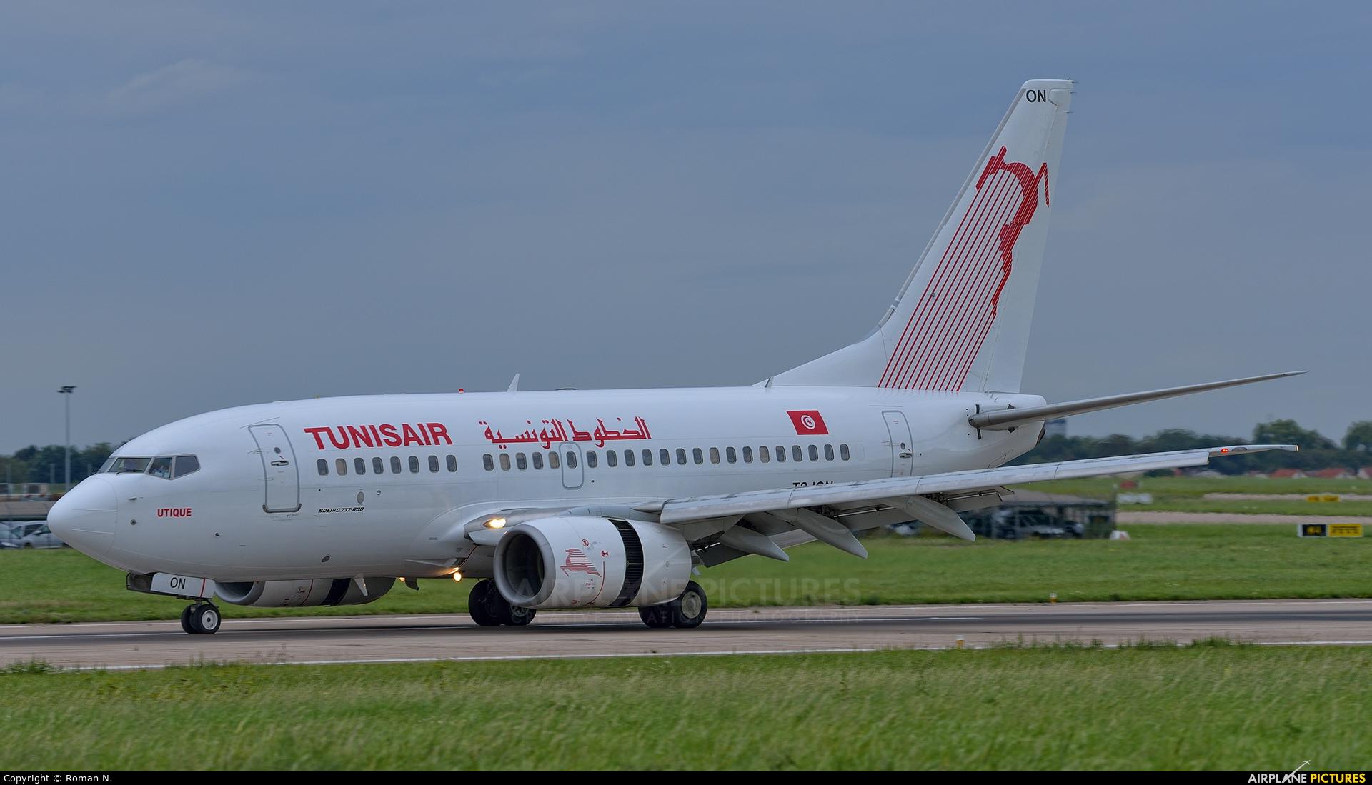 Tunisair TS-ION aircraft at Paris - Orly
