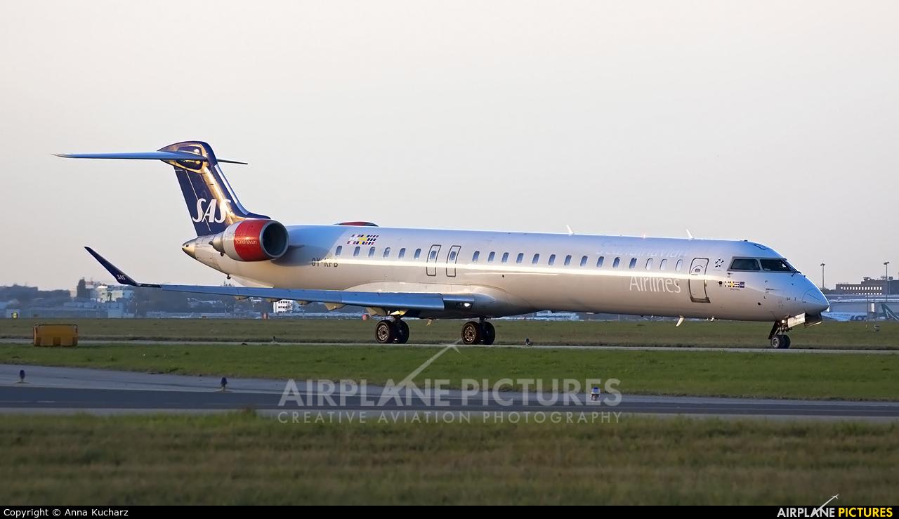 SAS - Scandinavian Airlines OY-KFB aircraft at Warsaw - Frederic Chopin