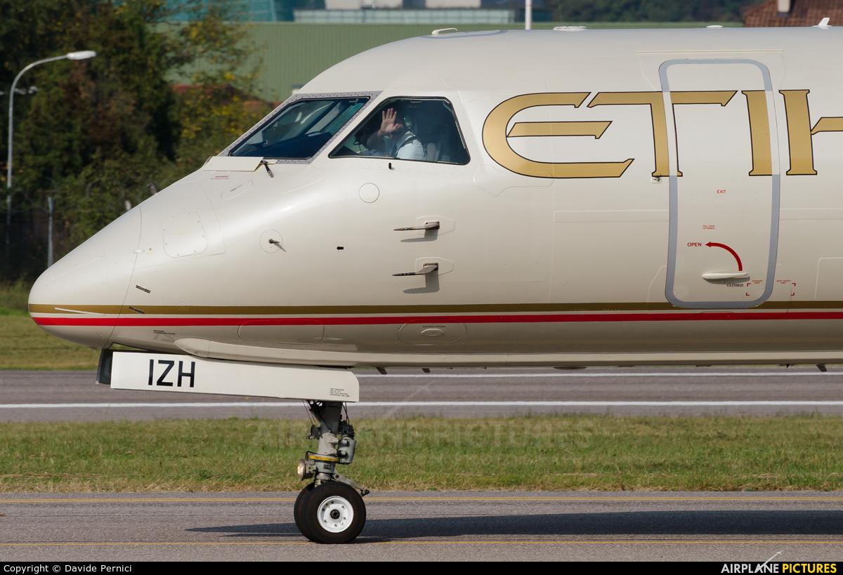 Etihad Regional - Darwin Airlines HB-IZH aircraft at Bolzano