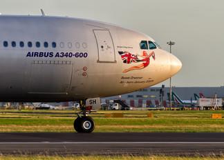 G-VSSH - Virgin Atlantic Airbus A340-600