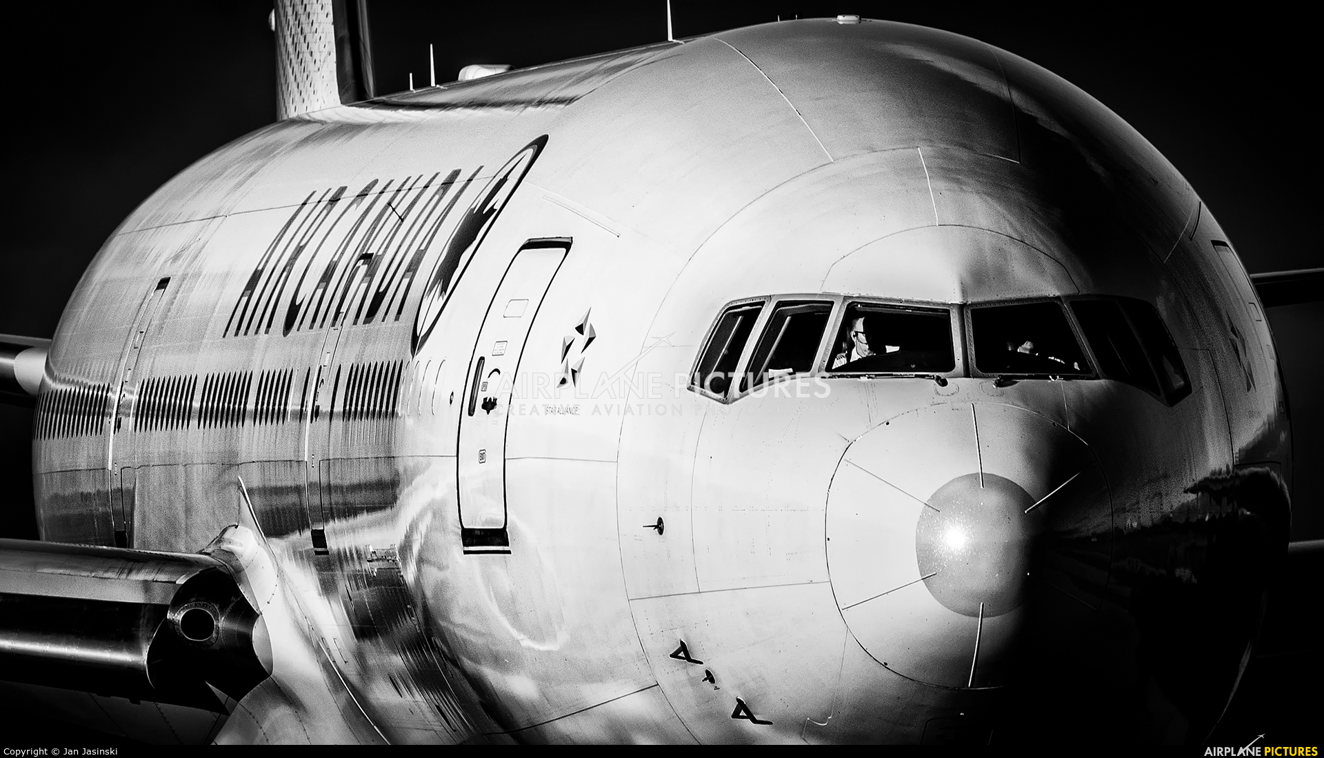 Air Canada C-FIUA aircraft at Toronto - Pearson Intl, ON