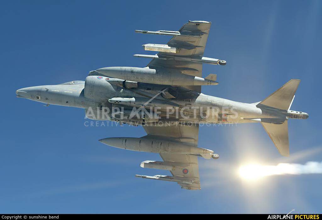 Royal Air Force ZD376 aircraft at Kandahar