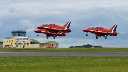 "- - Royal Air Force ""Red Arrows"" British Aerospace Hawk T.1W"