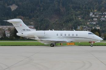 OE-HCZ - Avcon Jet AG Bombardier BD-100 Challenger 300 series