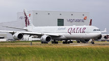 A7-AGD - Qatar Airways Airbus A340-600 aircraft