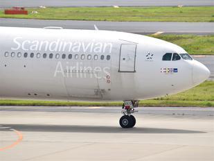 LN-RKG - SAS - Scandinavian Airlines Airbus A340-300