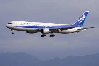 JA8357 - ANA - All Nippon Airways Boeing 767-300