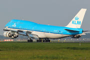 PH-BFK - KLM Boeing 747-400 aircraft
