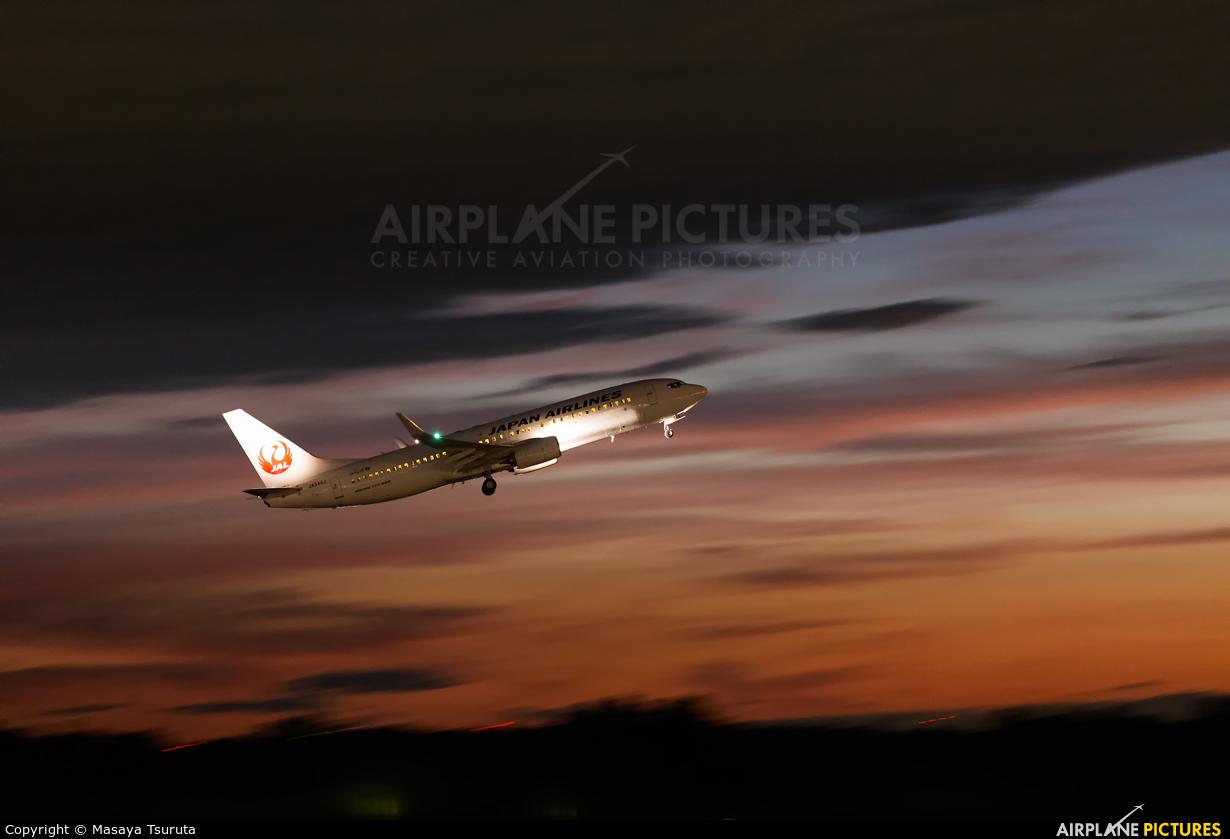 JAL - Japan Airlines JA348J aircraft at Tokyo - Narita Intl