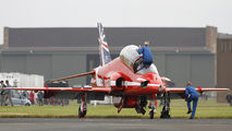 "XX319 - Royal Air Force ""Red Arrows"" British Aerospace Hawk T.1/ 1A aircraft"