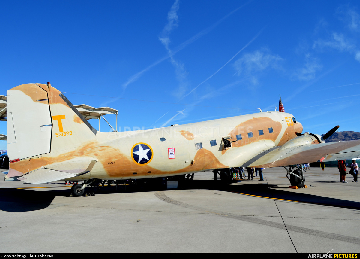 Commemorative Air Force N53ST aircraft at Nellis AFB