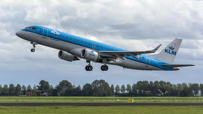 PH-EZS - KLM Cityhopper Embraer ERJ-190 (190-100)