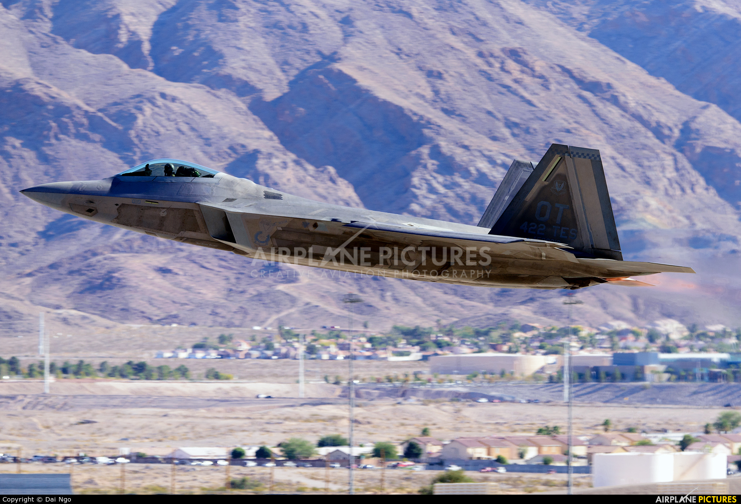 USA - Air Force 99-4010 aircraft at Nellis AFB