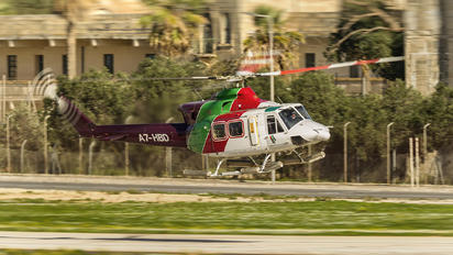 A7-HBD - Gulf Helicopters Bell 412SP