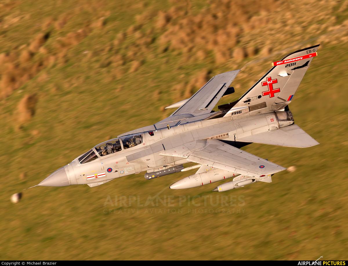 Royal Air Force ZA600 aircraft at Machynlleth LFA7