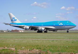 PH-BFR - KLM Boeing 747-400