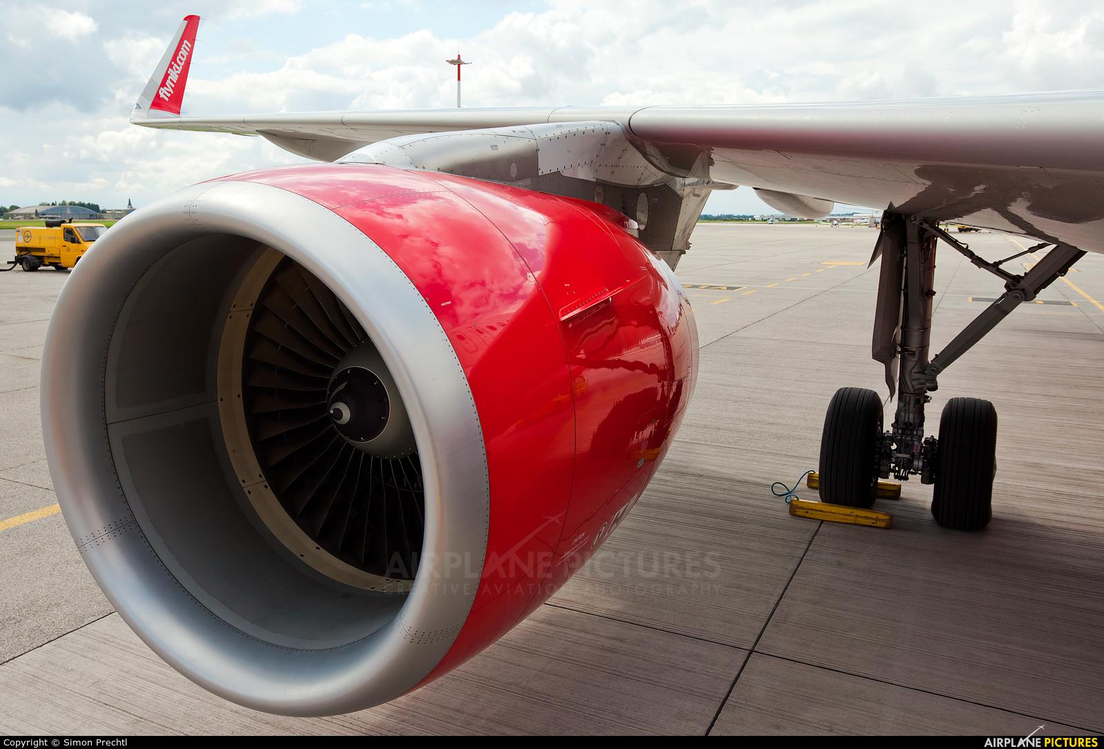 Niki OE-LER aircraft at Linz