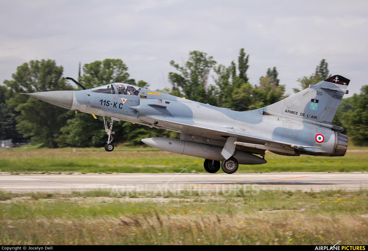 France - Air Force 120 aircraft at Orange - Caritat