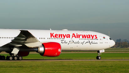 5Y-KZY - Kenya Airways Boeing 777-300ER