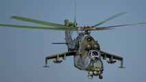 7356 - Czech - Air Force Mil Mi-24V aircraft