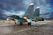 54 - Russia - Air Force Sukhoi Su-30SM aircraft