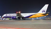 G-MONK - Monarch Airlines Boeing 757-200 aircraft