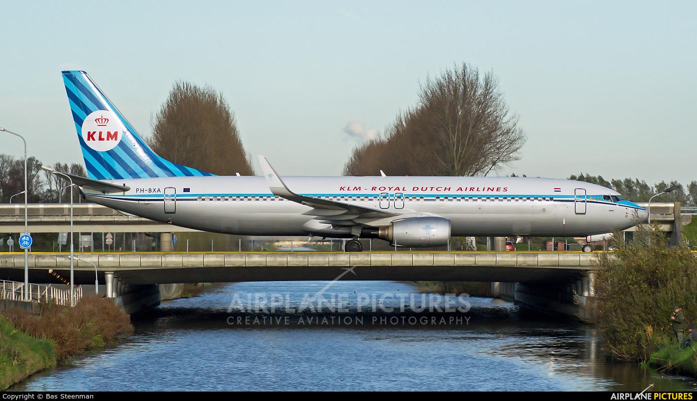 KLM PH-BXA aircraft at Amsterdam - Schiphol