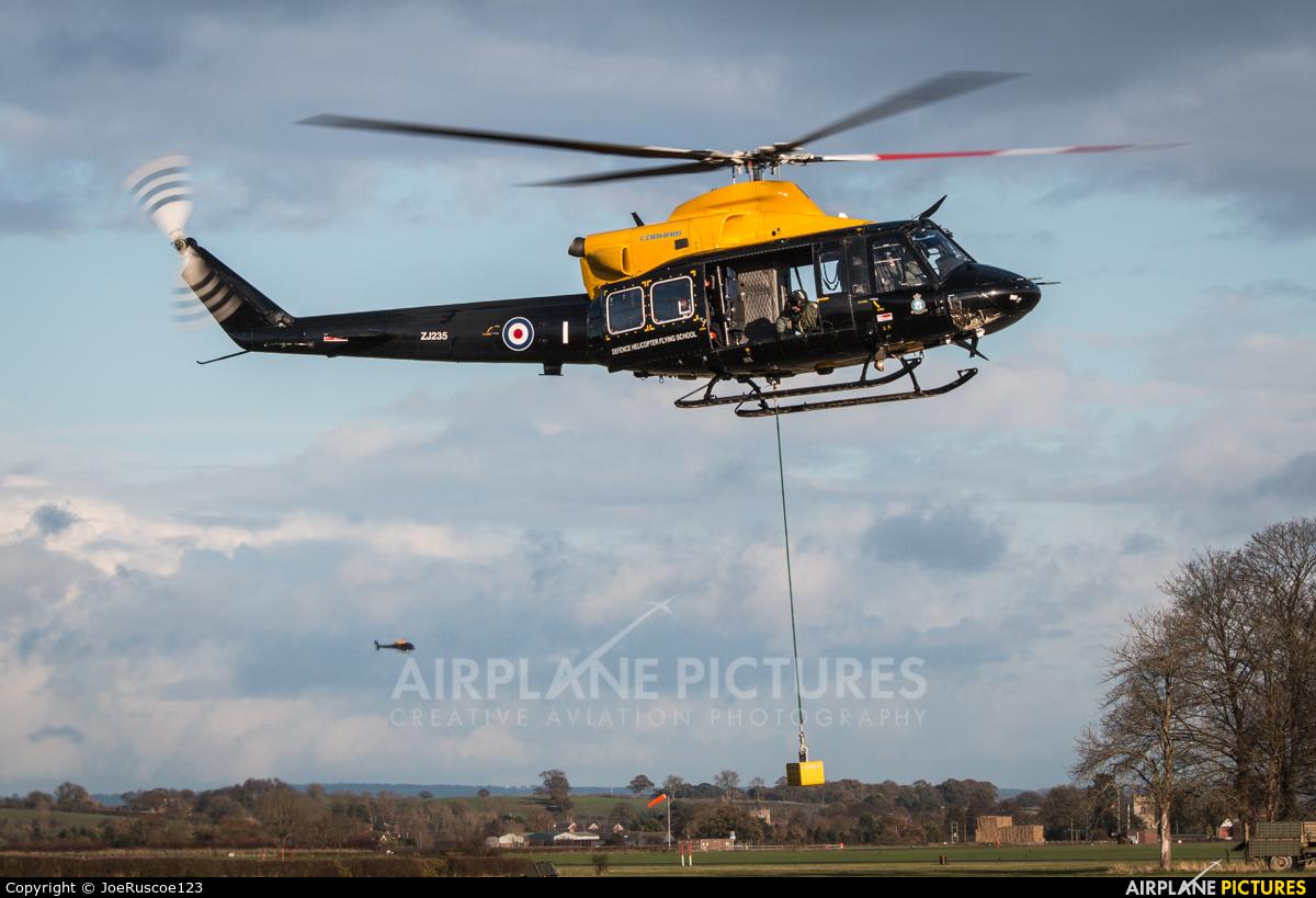 Royal Air Force ZJ235 aircraft at Shawbury