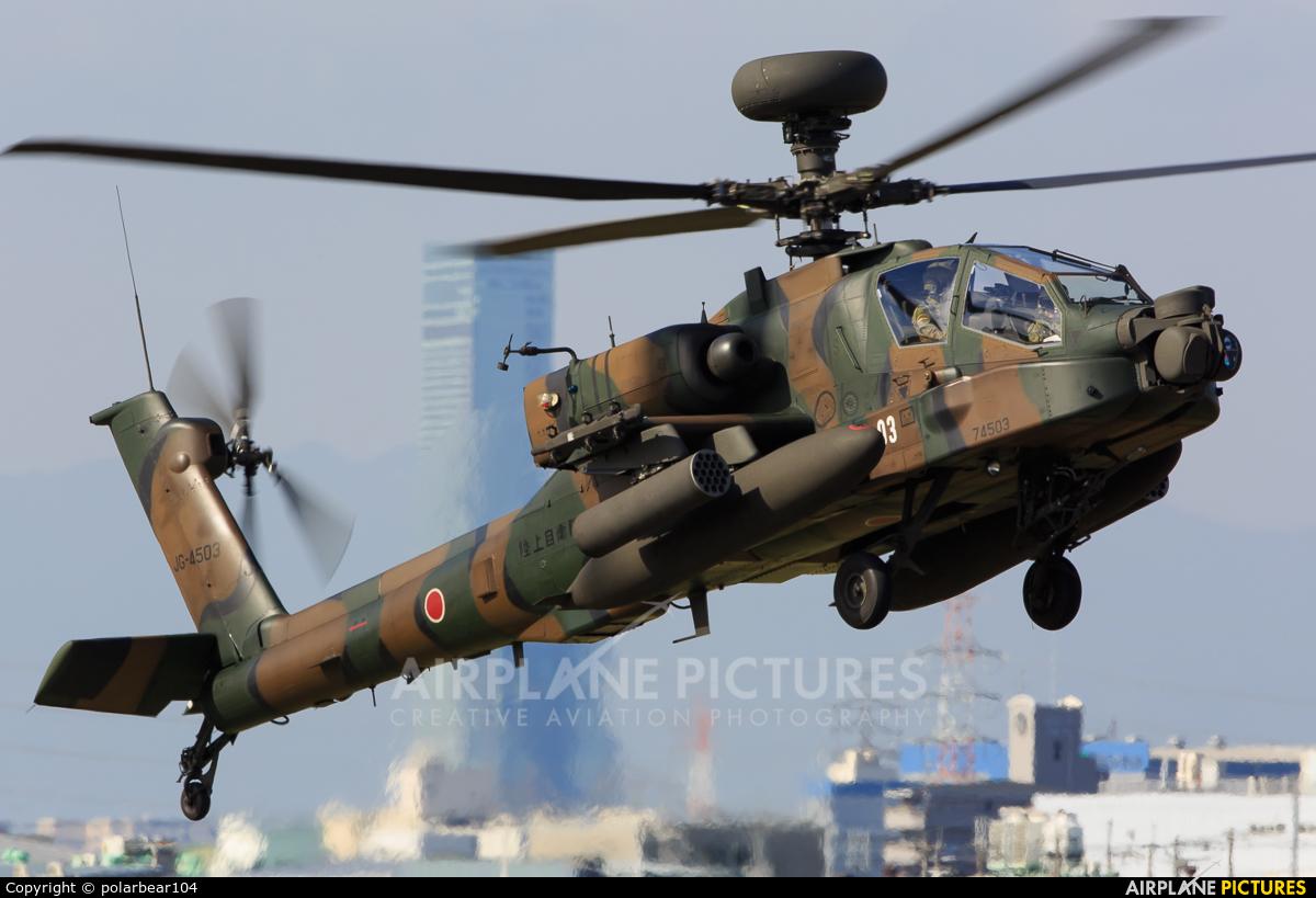 Japan - Ground Self Defense Force 74503 aircraft at Yao