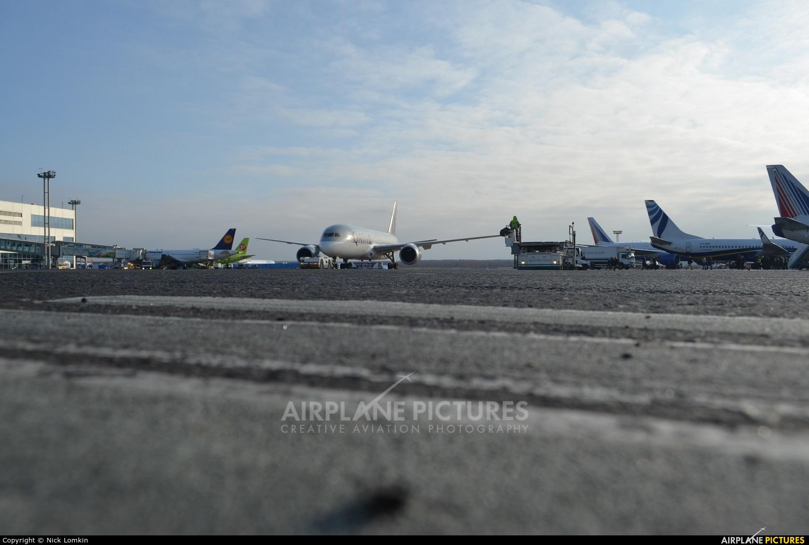 Qatar Airways A7-BCB aircraft at Moscow - Domodedovo