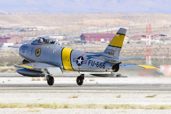 NX860AG - Private North American F-86F Sabre