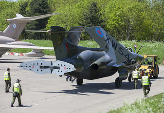 XW544 - Royal Air Force Blackburn Buccaneer S.2B