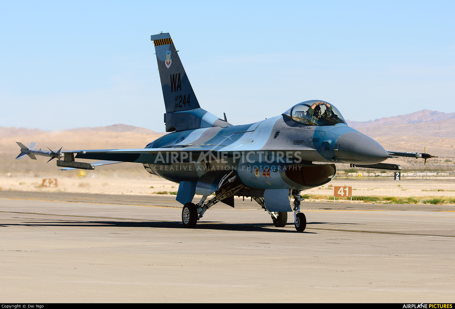 USA - Air Force 84-0244 aircraft at Nellis AFB