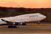 N671US - Delta Air Lines Boeing 747-400 aircraft