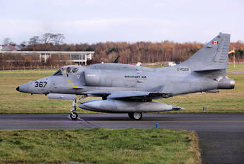 C-FGZD - Discovery Air Defence Services Douglas A-4 Skyhawk (all models)