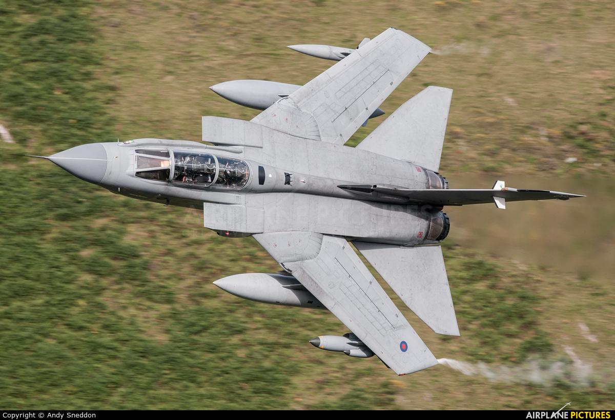 Royal Air Force ZD714 aircraft at Machynlleth LFA7