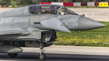 ZJ802 - Royal Air Force Eurofighter Typhoon T.3 aircraft