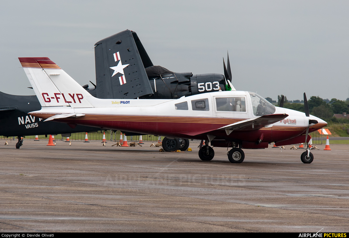 Private G-FLYP aircraft at Duxford