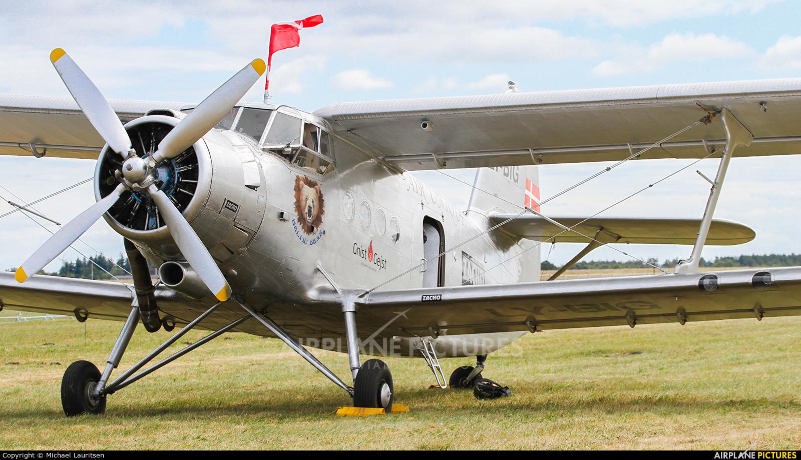 Air Unique LY-BIG aircraft at Karup