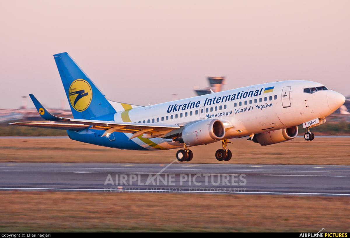 Ukraine International Airlines UR-GAW aircraft at Helsinki - Vantaa