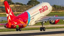 9H-AEH - Air Malta Airbus A319 aircraft