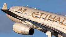 A6-EYJ - Etihad Airways Airbus A330-200 aircraft