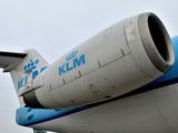 PH-OFE - KLM Cityhopper Fokker 100 aircraft