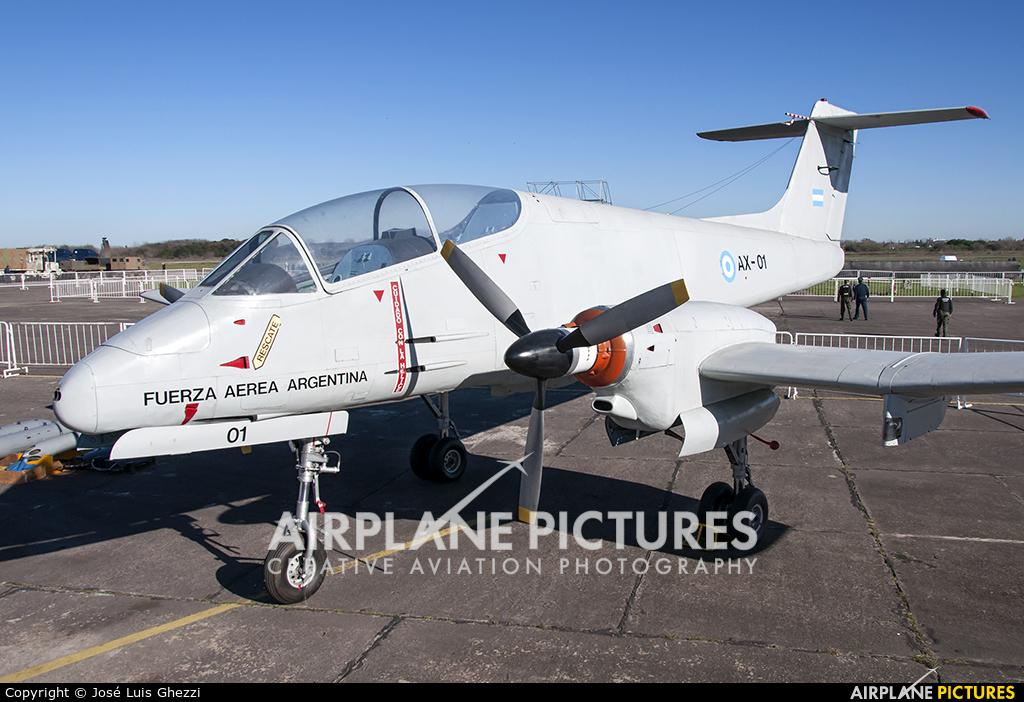 Argentina - Air Force AX-01 aircraft at Morón
