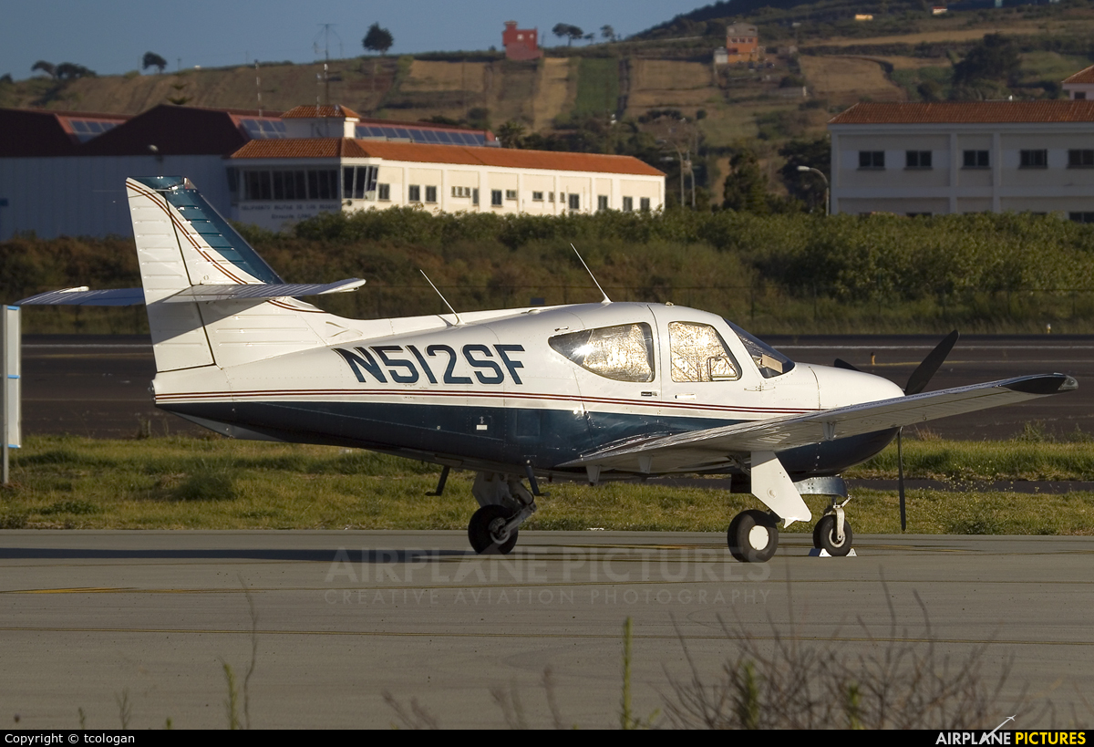 Private N512SF aircraft at Tenerife Norte - Los Rodeos