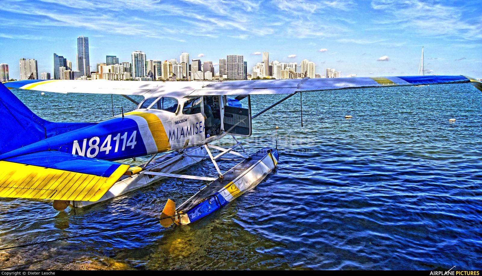 N84114 aircraft at Miami Intl