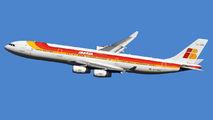 EC-GGS - Iberia Airbus A340-300 aircraft