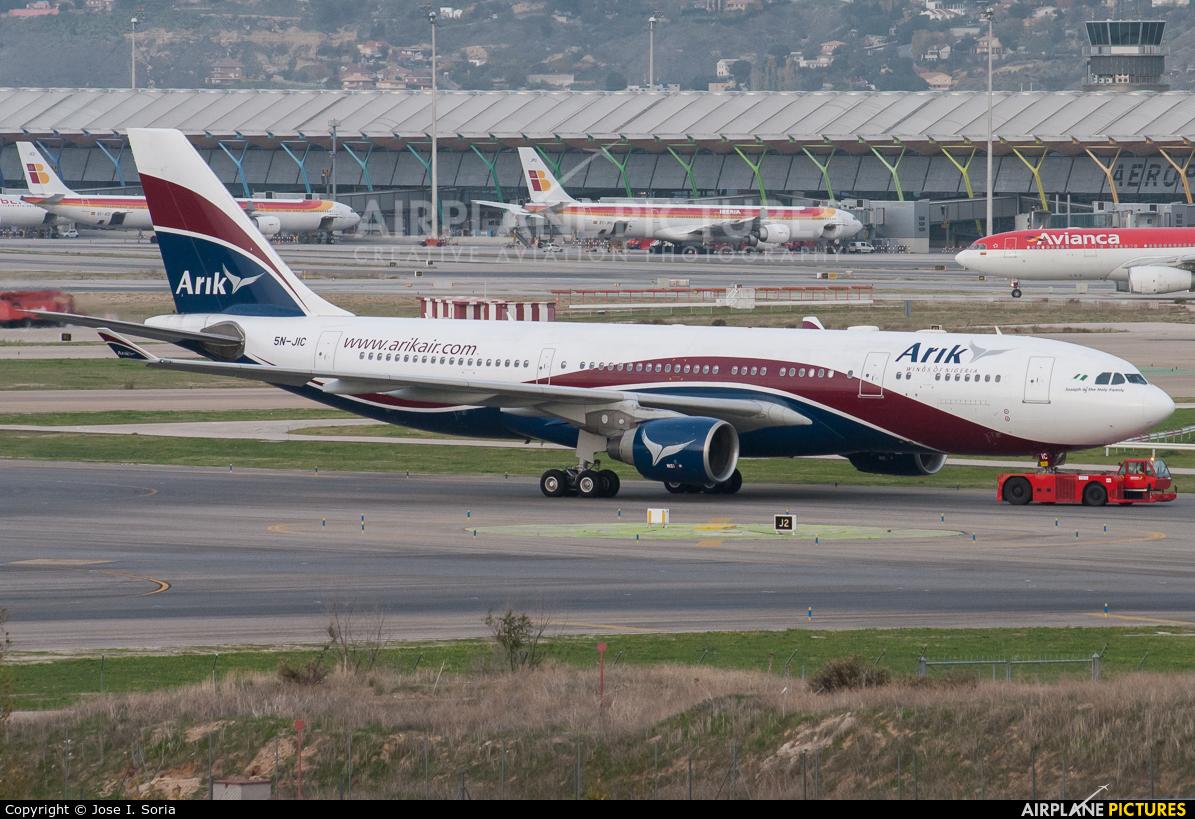 Arik Air 5N-JIC aircraft at Madrid - Barajas