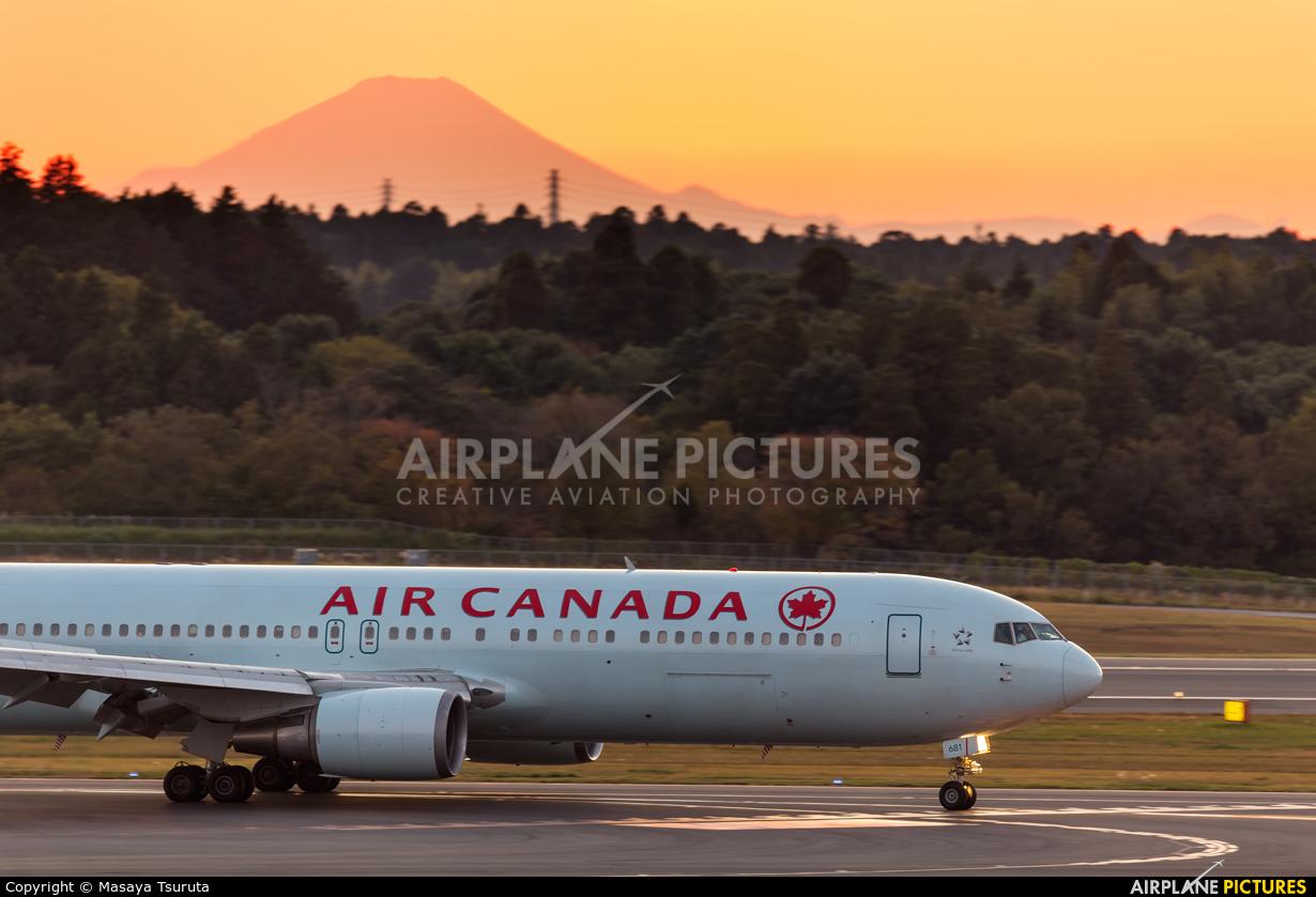 Air Canada C-GHOZ aircraft at Tokyo - Narita Intl