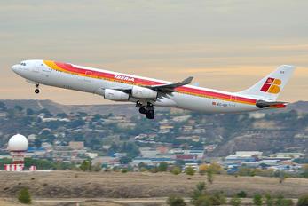 EC-ICF - Iberia Airbus A340-300